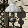 Nickel Rayo Lamp