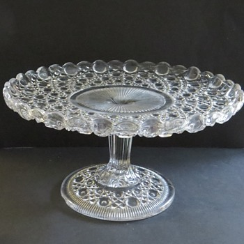 Davidson Glass Cake Stand - Glassware