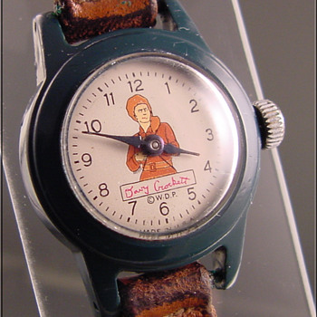 Davy Crockett boy's wristwatch c.1950 - Wristwatches