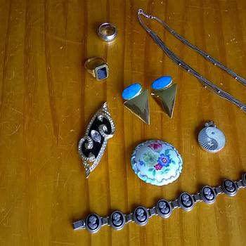 """""""Stuff"""" Bought At Last Weekend's (July 19th) Flea Markets. - Fine Jewelry"""