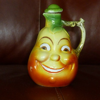 Possible Old Pear Syrup Container - Figurines