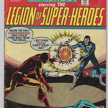 Superboy Legion of Super Heroes  comic book 1974 - Comic Books