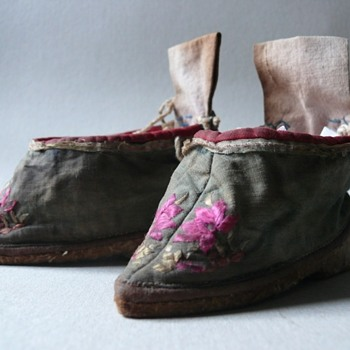 chinese lotus shoes - Asian