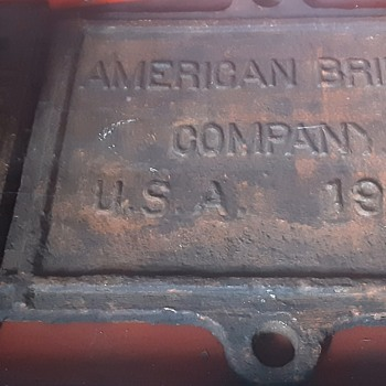 American Bridge Builder Plate for the PRR - Tools and Hardware