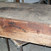 Oliver Machinery Company crate