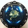 Westclox Earth paperweight clock--1936-1938