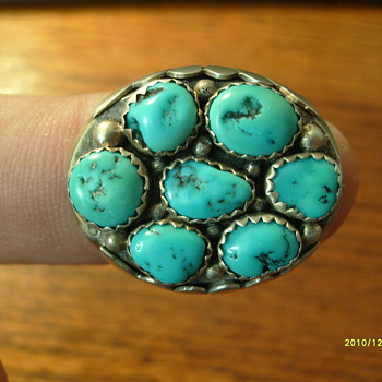 Navajo Turquoise Ring - Fine Jewelry
