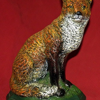 Cast Iron Fox Doorstop - Animals