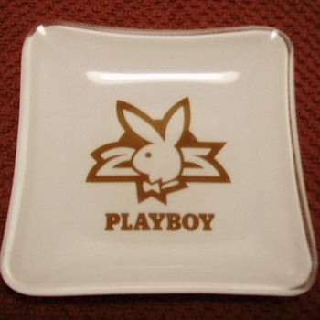 Playboy 25th Anniversary Ashtray