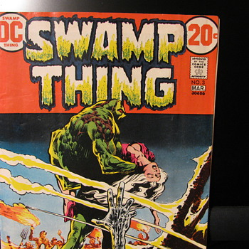 Swamp Thing  #s  3,4,&7