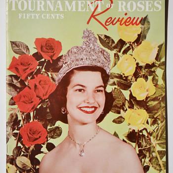 Rose Parade souvenir program - 1954 - Advertising