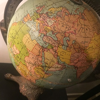 8 inch table globe - Office