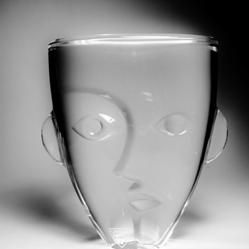 MARTTI RYTKONEN FOR ORREFORS - SWEDEN - Art Glass