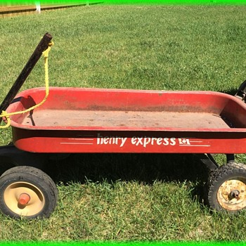 Vintage HENRY EXPRESS Metal Wagon - Canadian - Toys