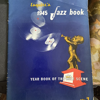 Large Esquire's 1945  Jazz Book - Paper