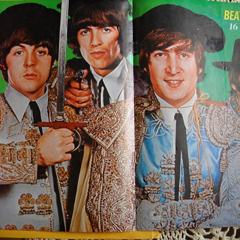 16 Magazine Beatles ole' Poster