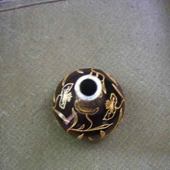 perfume bottle quezal or loetz or something else? - Art Glass