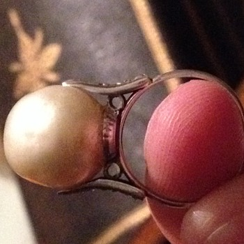 Old pearl ring - Fine Jewelry
