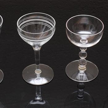 My parents' cocktail glasses - Glassware