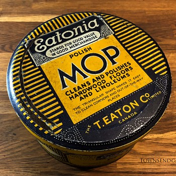 The T. EATON Co. Limited, Eatonia Mop Tin circa. 1930 - Advertising