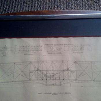 Wright Aeroplane 1903 - Paper