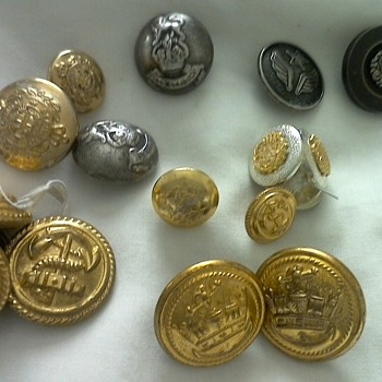 my button collection - Sewing