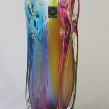 Rainbow glass from Iwatsu Japan - Art Glass