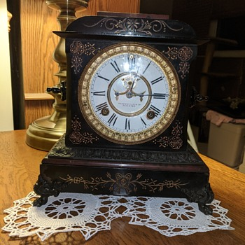 Cast iron and marble - Clocks