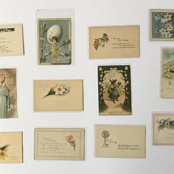 Vintage Easter CardS Postcards - Postcards