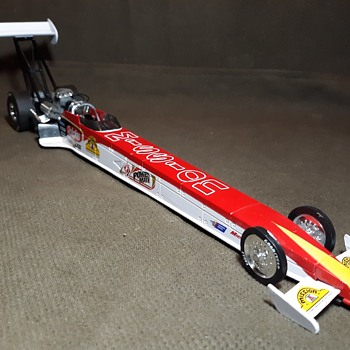 Racing Champions Mission Tortillas Top Fuel Dragster 1/24 Scale - Model Cars