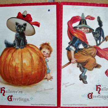 OLD HALLOWEEN POSTCARDS - Postcards