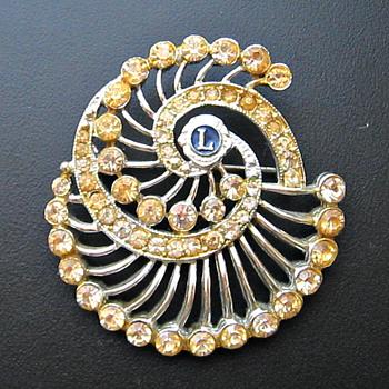 Lions Club Brooch - Identify? - Costume Jewelry
