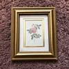 Framed Flower Print, 99¢ Goodwill find