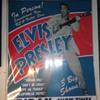 Elvis Presley 1956 Cleveland Concert Poster