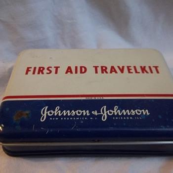 Johnson & Johnson First Aid Kit - Advertising