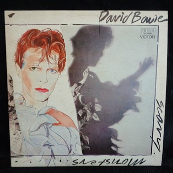 Vintage vinyl records - David Bowie albums & singles - Records