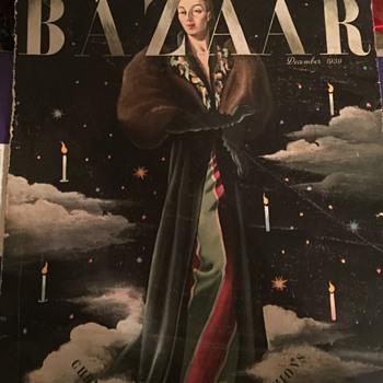 1939 Harpers Bazaar magazine - Paper