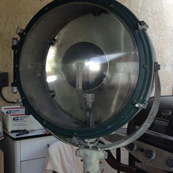 U.S. Army Air Service Search Light - Lamps