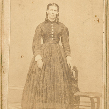 CDV, Two Well Dressed Ladies, Civil War Era, or a bit beyond==And Another same photographer,  - Photographs