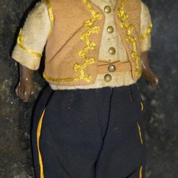 ANTIQUE VINTAGE DOLL - MIDDLE EASTERN MAYBE? - Dolls