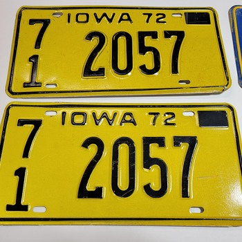 1972 License Plates & More - Classic Cars