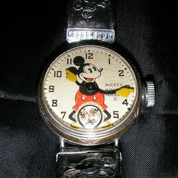 1933 Mickey Mouse Wrist Watch - Wristwatches