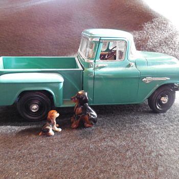 1955 Chevrolet 3100 Pickup Truck 1/18 Scale Model Post For Brian(fortapache) :^) - Model Cars