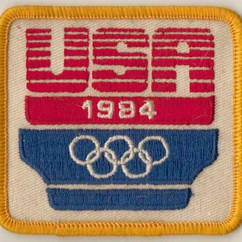 1984 - USA Olympic Patch - Sporting Goods