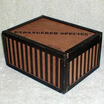 1970's - Wooden Gift Box - Chocolates?? - Advertising