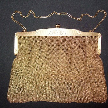 Vintage 14k gold mesh purse. Can you identify?  - Victorian Era