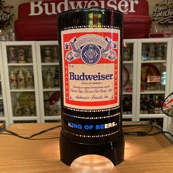 Budweiser Heat lamp display - Breweriana