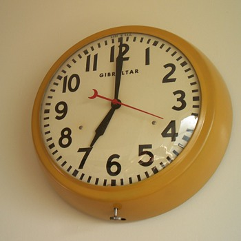 Gibraltar Kitchen Clock - Clocks