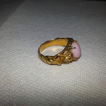 German Mermaid Ring Gold - Fine Jewelry