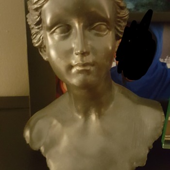 Bust of Woman that came with a David Bust - Fine Art